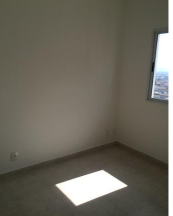 Dormitório do apartamento com 2 dormitórios em OCIAN - PRAIA GRANDE
