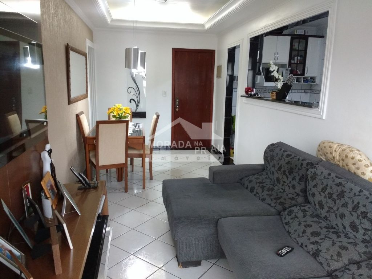 do apartamento com 2 dormitórios em GUILHERMINA - PRAIA GRANDE