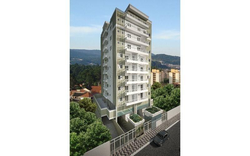 Fachada do apartamento com 2 dormitórios em GUILHERMINA - PRAIA GRANDE