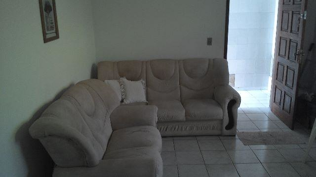 Sala do casa geminada com 2 dormitórios em CANTO DO FORTE - PRAIA GRANDE