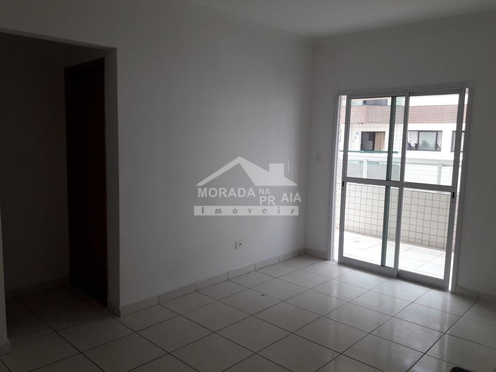 Sala do apartamento com 1 dormitórios em Campo da Aviação - Praia Grande