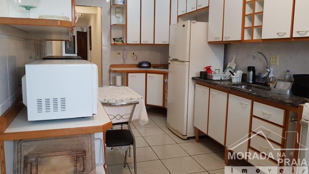 WC suíte 01 do cobertura com 3 dormitórios em Canto do Forte - Praia Grande