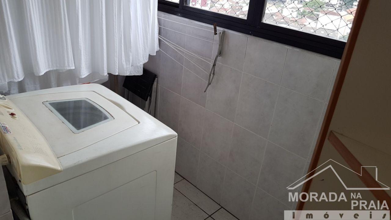 Suíte 02 do cobertura com 3 dormitórios em Canto do Forte - Praia Grande