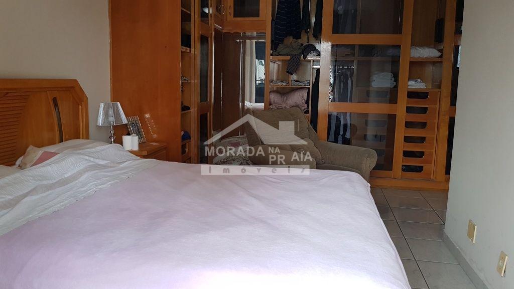 Vista dos dormitórios do cobertura com 3 dormitórios em Canto do Forte - Praia Grande
