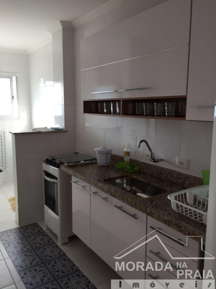Cozinha ang 02 do apartamento com 2 dormitórios em Boqueirão - Praia Grande