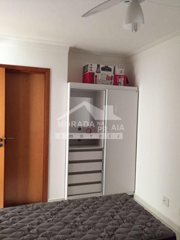 Suíte ang 02 do apartamento com 2 dormitórios em Boqueirão - Praia Grande