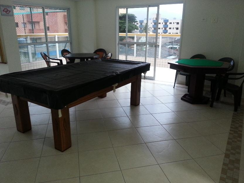 Salão de jogos do apartamento com 2 dormitórios em TUPI - PRAIA GRANDE