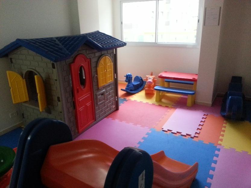 Brinquedoteca do apartamento com 2 dormitórios em TUPI - PRAIA GRANDE