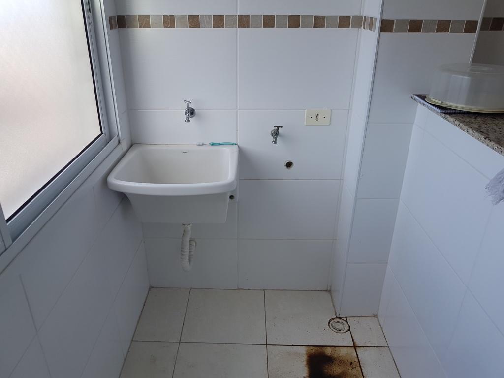 Área de serviço do apartamento com 2 dormitórios em TUPI - PRAIA GRANDE