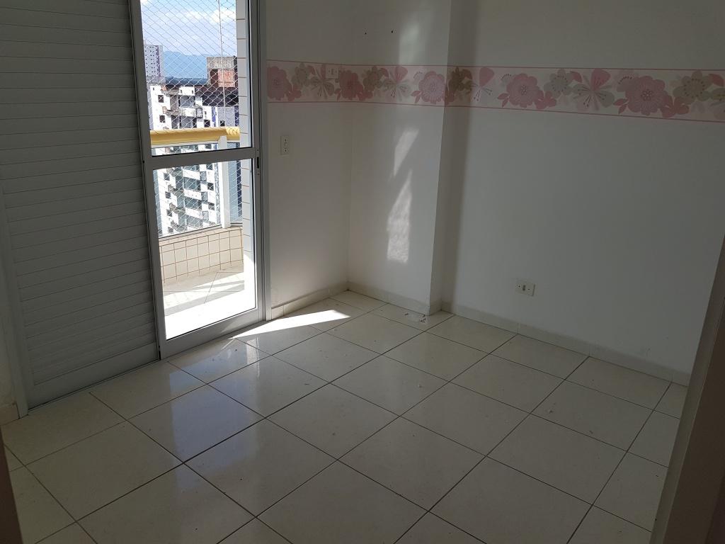 Dormitório do apartamento com 2 dormitórios em TUPI - PRAIA GRANDE