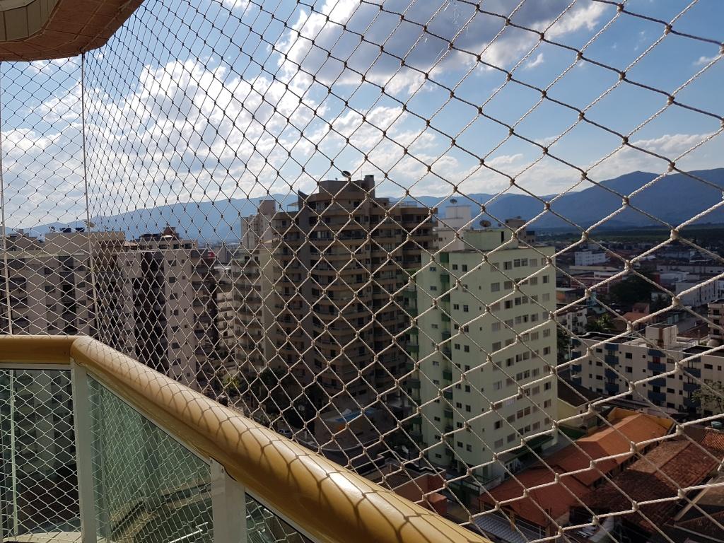 Vista do dormitório do apartamento com 2 dormitórios em TUPI - PRAIA GRANDE