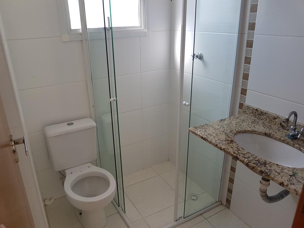 WC social do apartamento com 2 dormitórios em TUPI - PRAIA GRANDE