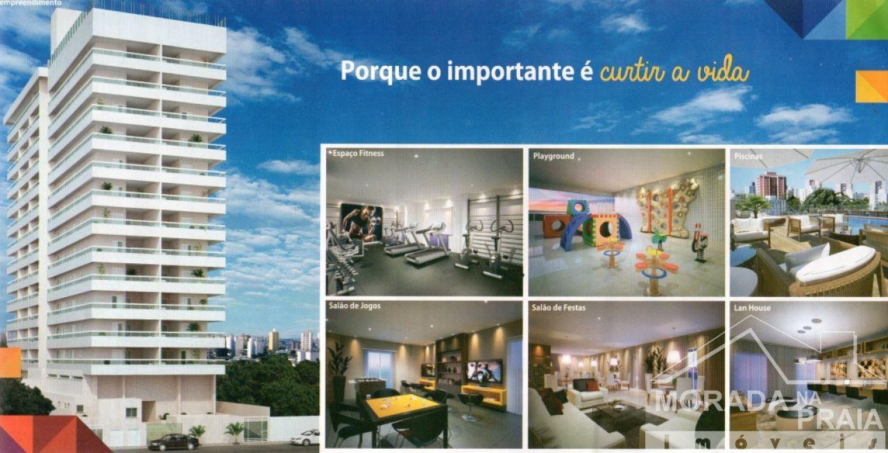 Fachada do apartamento com 1 dormitórios em REAL - PRAIA GRANDE