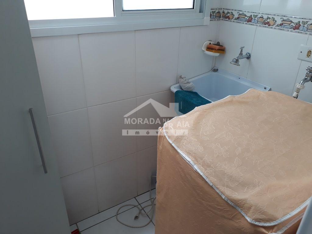 Área de Serviço do apartamento com 2 dormitórios em GUILHERMINA - PRAIA GRANDE