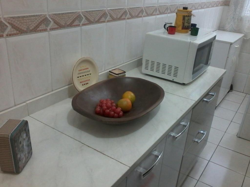 Cozinha ang 02 do apartamento com 1 dormitórios em OCIAN - PRAIA GRANDE