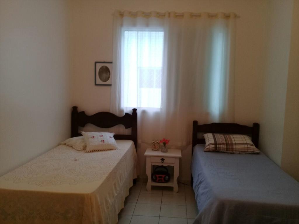 Dormitório do apartamento com 1 dormitórios em OCIAN - PRAIA GRANDE