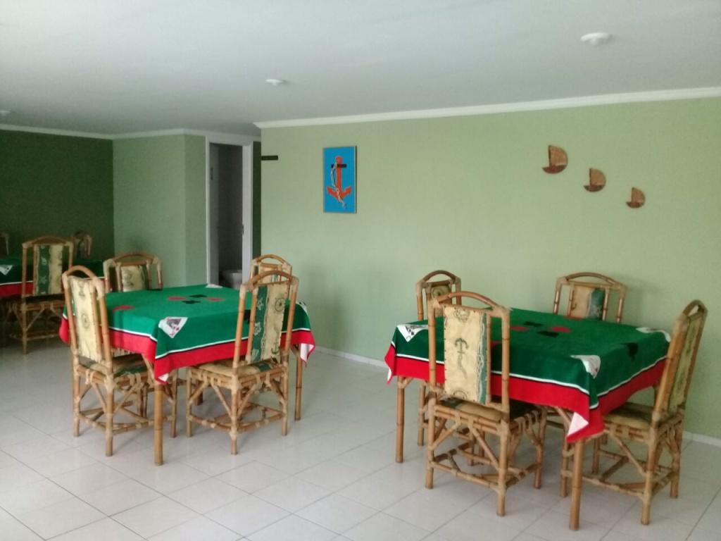 Salão de jogos do apartamento com 1 dormitórios em OCIAN - PRAIA GRANDE