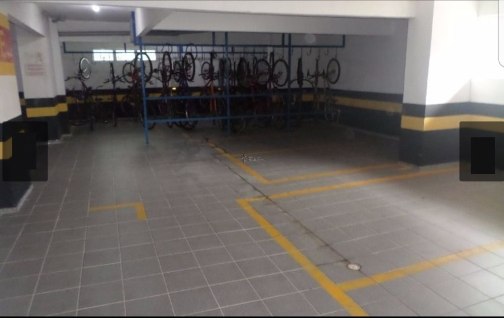 Bicicletário do apartamento com 1 dormitórios em OCIAN - PRAIA GRANDE