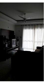 Sala ang 02 do apartamento com 2 dormitórios em CANTO DO FORTE - PRAIA GRANDE