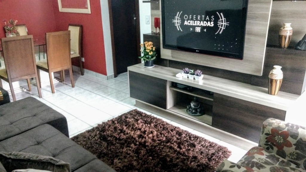 Sala ang 03 do apartamento com 2 dormitórios em OCIAN - PRAIA GRANDE