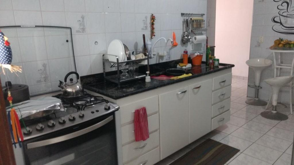 Cozinha ang 03 do apartamento com 2 dormitórios em OCIAN - PRAIA GRANDE