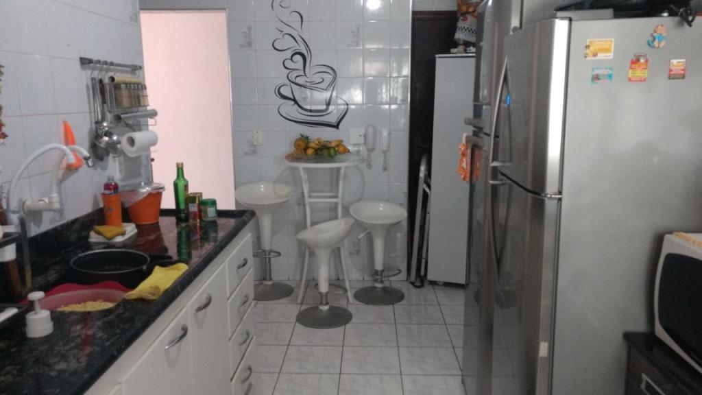 Cozinha ang 02 do apartamento com 2 dormitórios em OCIAN - PRAIA GRANDE