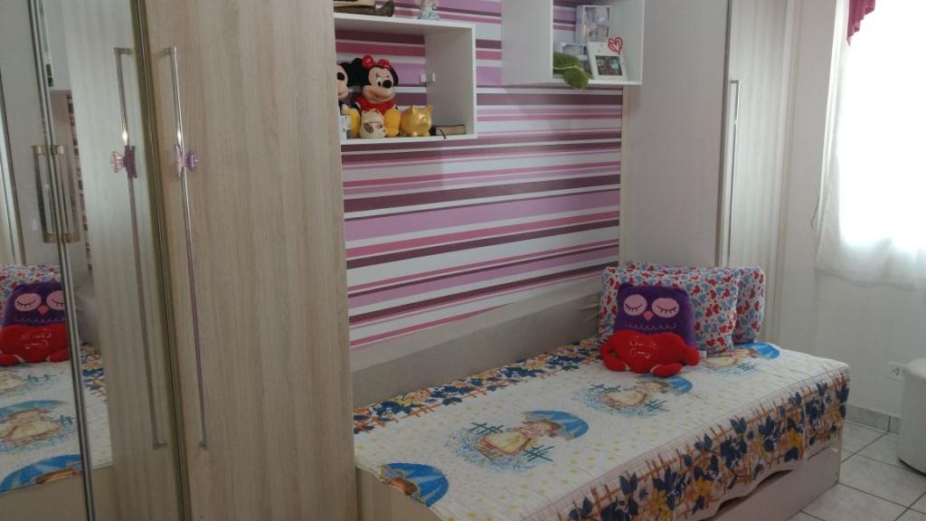 Dormitório 02 do apartamento com 2 dormitórios em OCIAN - PRAIA GRANDE