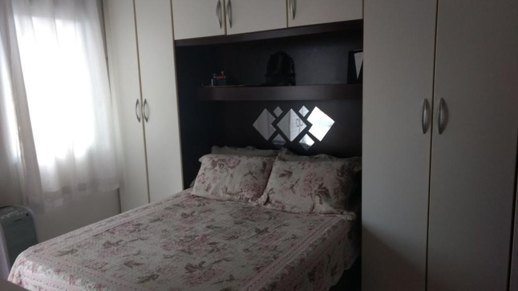 Dormitório 01 ang 02 do apartamento com 2 dormitórios em OCIAN - PRAIA GRANDE