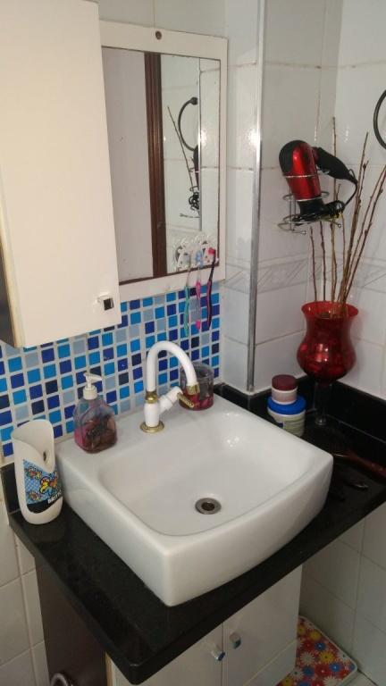 WC social do apartamento com 2 dormitórios em OCIAN - PRAIA GRANDE