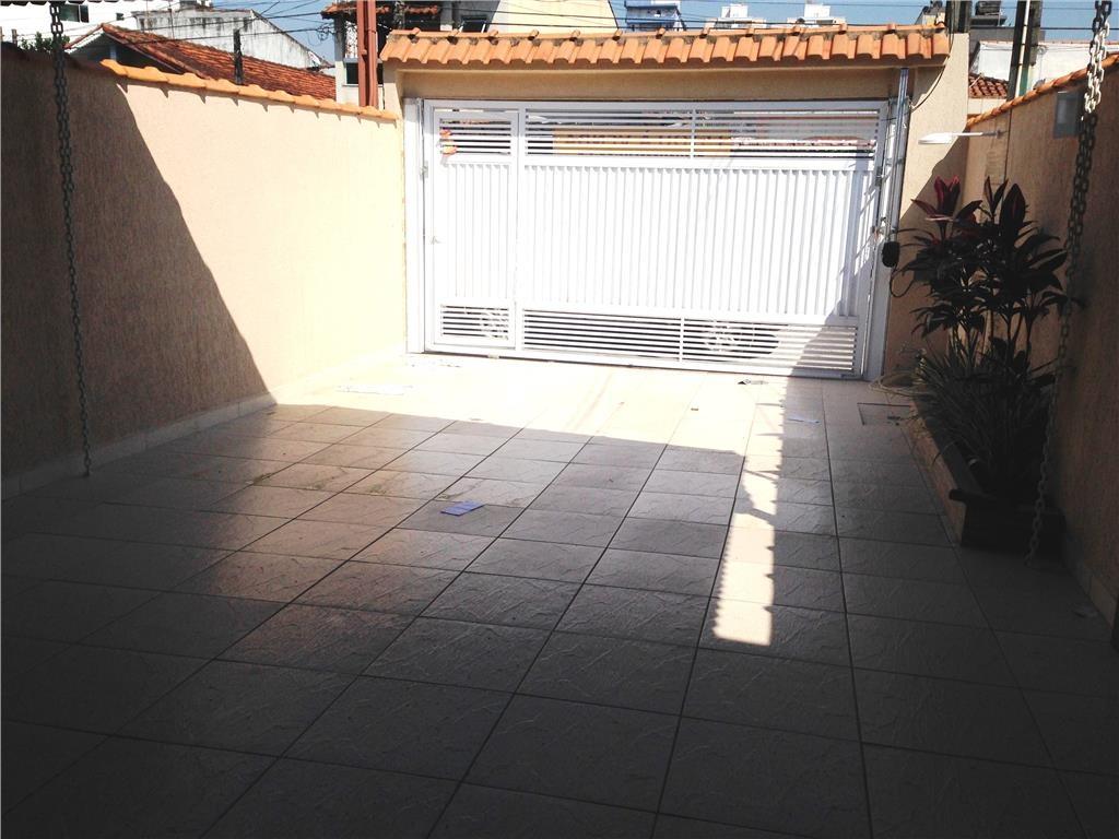Garagem do casa geminada com 3 dormitórios em CANTO DO FORTE - PRAIA GRANDE