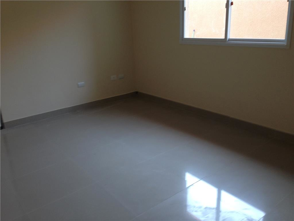 Sala do casa geminada com 3 dormitórios em CANTO DO FORTE - PRAIA GRANDE