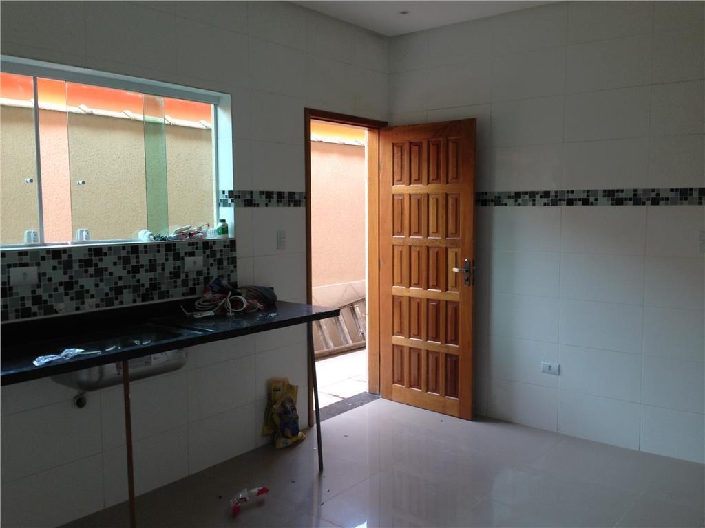 Cozinha ang 02 do casa geminada com 3 dormitórios em CANTO DO FORTE - PRAIA GRANDE