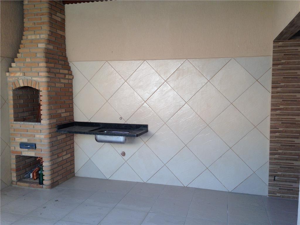 Churrasqueira e pia do casa geminada com 3 dormitórios em CANTO DO FORTE - PRAIA GRANDE