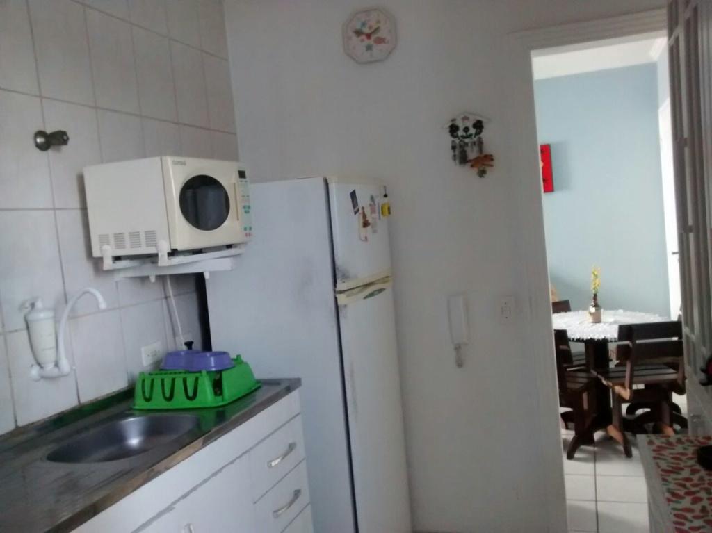 Cozinha ang 02 do apartamento com 2 dormitórios em VILA SONIA - PRAIA GRANDE