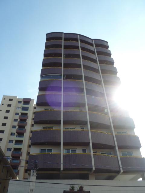 Fachada do kitinet com 1 dormitórios em AVIAÇÃO - PRAIA GRANDE