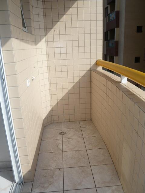 Sacada do kitinet com 1 dormitórios em AVIAÇÃO - PRAIA GRANDE