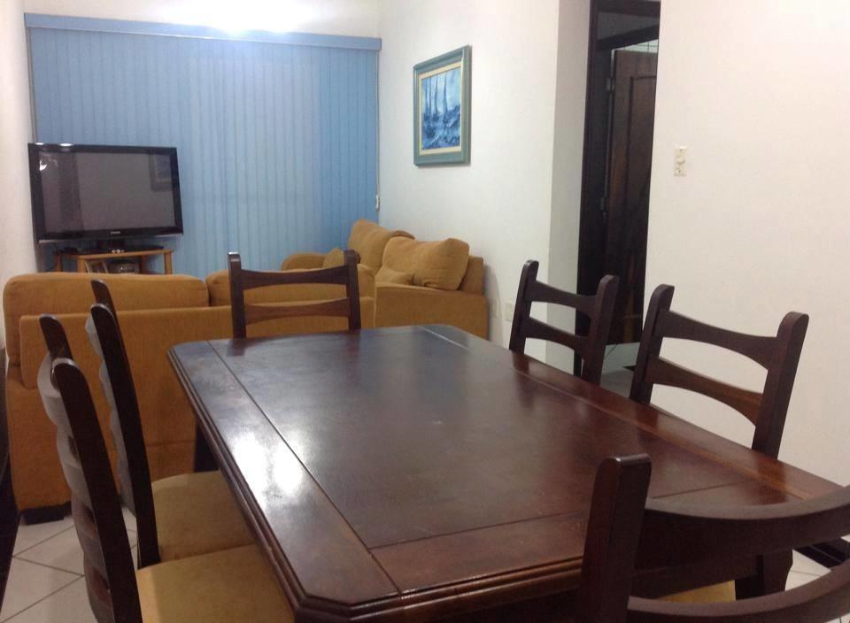 Sala ang 03 do apartamento com 2 dormitórios em CANTO DO FORTE - PRAIA GRANDE
