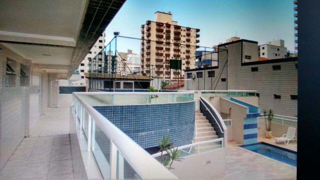 área de lazer do apartamento com 2 dormitórios em OCIAN - PRAIA GRANDE
