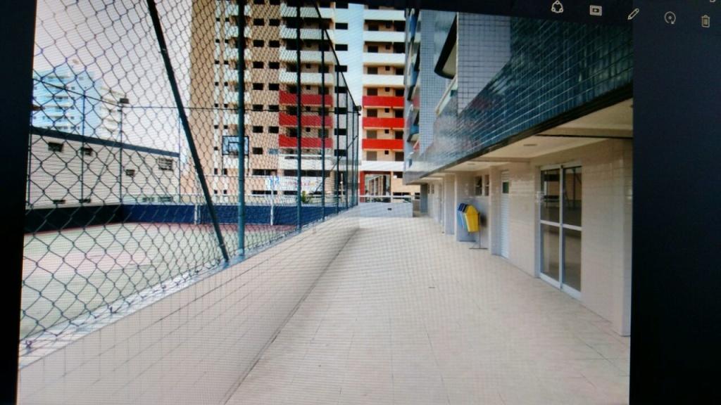 Quadra do apartamento com 2 dormitórios em OCIAN - PRAIA GRANDE
