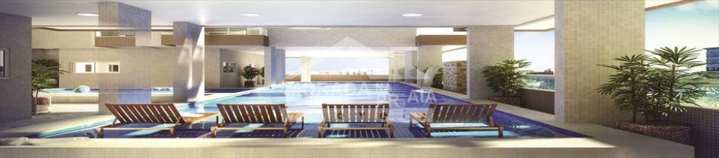 Piscina do apartamento com 2 dormitórios em CAIÇARA - PRAIA GRANDE