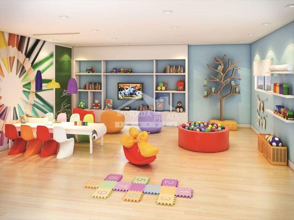 Kids do apartamento com 2 dormitórios em CAIÇARA - PRAIA GRANDE