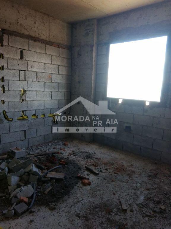 Dormitório do apartamento com 2 dormitórios em MIRIM - PRAIA GRANDE