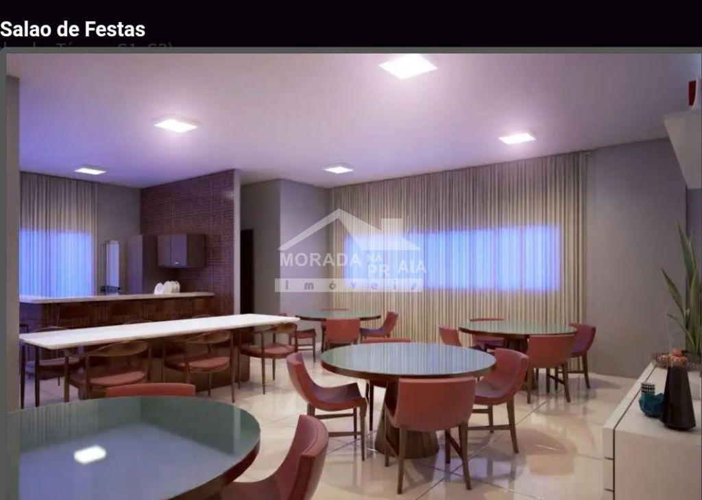 Salão de festas do apartamento com 2 dormitórios em MIRIM - PRAIA GRANDE
