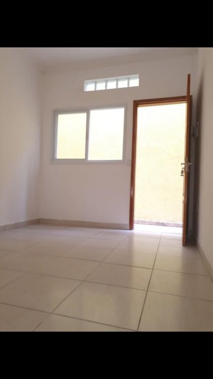 Sala do condomínio fechado com 2 dormitórios em TUPI - PRAIA GRANDE
