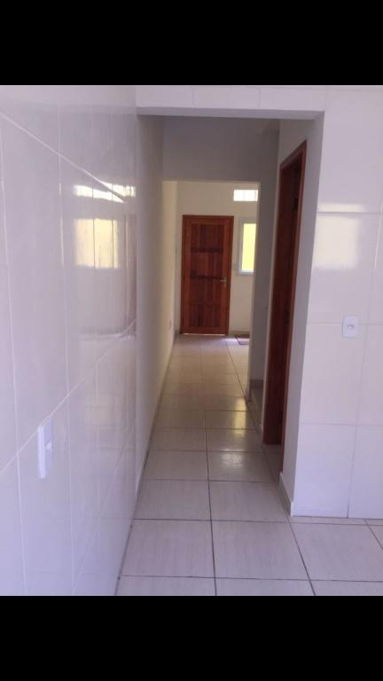 Vista da sala do condomínio fechado com 2 dormitórios em TUPI - PRAIA GRANDE