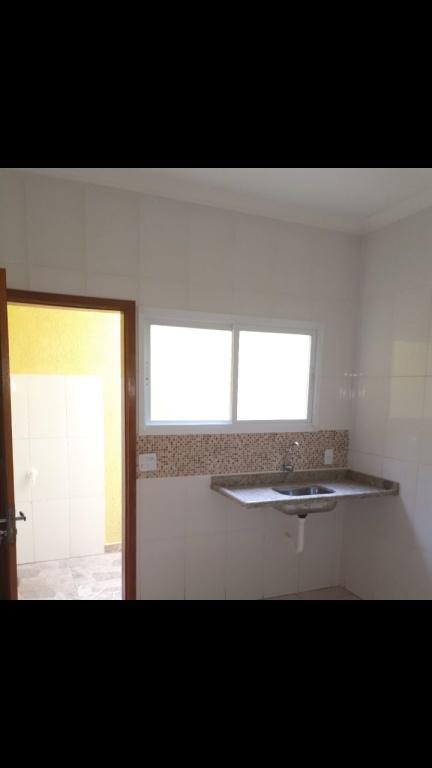 Cozinha do condomínio fechado com 2 dormitórios em TUPI - PRAIA GRANDE