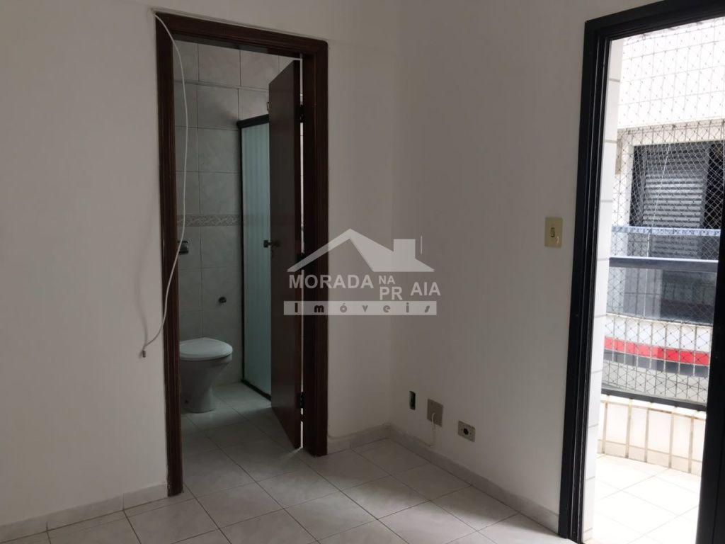 Dormitório 2 do apartamento com 2 dormitórios em CANTO DO FORTE - PRAIA GRANDE
