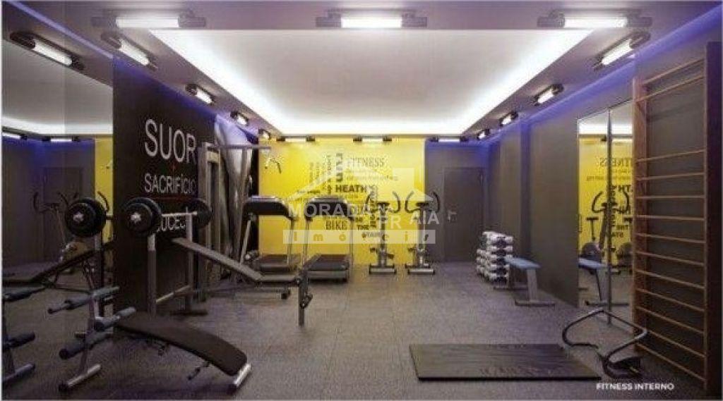 Fitness interno do apartamento com 2 dormitórios em Vila Tupi - Praia Grande