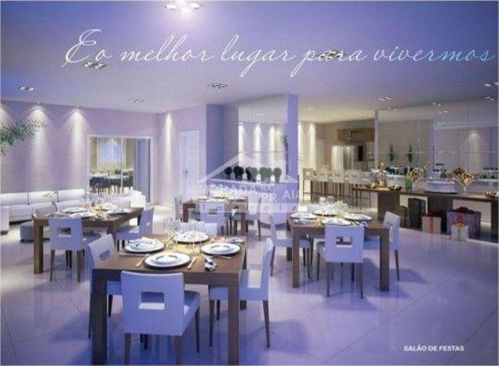 Salão de festas do apartamento com 2 dormitórios em Vila Tupi - Praia Grande
