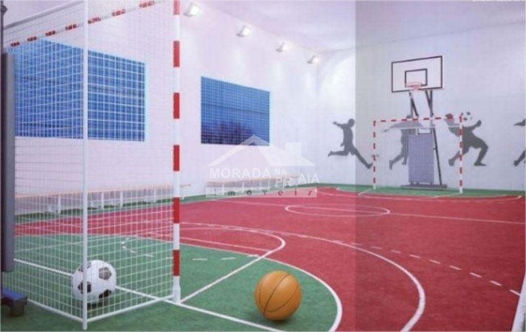 Quadra de esporte do apartamento com 2 dormitórios em Vila Tupi - Praia Grande
